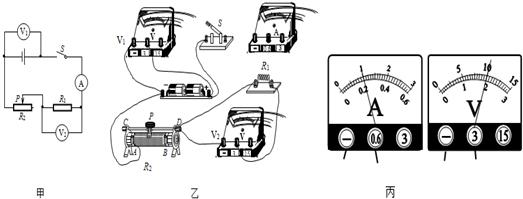 为了能测量我们实际电路中的电压,我们需要给这个电压表串联一个比较