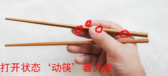 筷子使用小技巧: 用筷子夹取掉在桌面上的熟面条,力道一定要轻,这样才能把面条夹起来而不是把面条夹得一段一段的断掉。 表面有漆层的筷子清洗时一定不能成把的放在一起搓,这样会把漆面搓破,影响筷子的外观。 看文字是很烦人,文字只是配合图片说明,理解能力强的,只用看图片就行了。  筷子的正确拿法图解 学会拿筷从小做起  筷子的正确拿法图解 学会拿筷从小做起  筷子的正确拿法图解 学会拿筷从小做起  筷子的正确拿法图解 学会拿筷从小做起  筷子的正确拿法图解 学会拿筷从小做起  筷子的正确拿法图解 学会拿筷从小做起