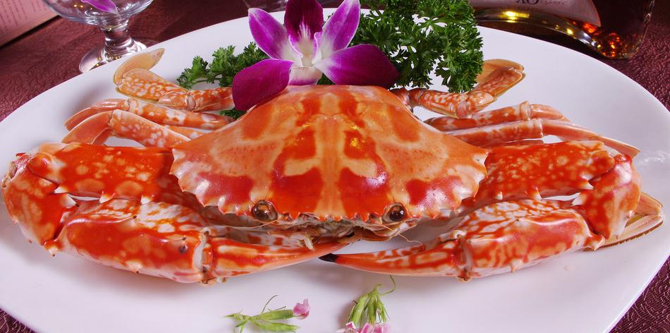 螃蟹结画法国画步骤