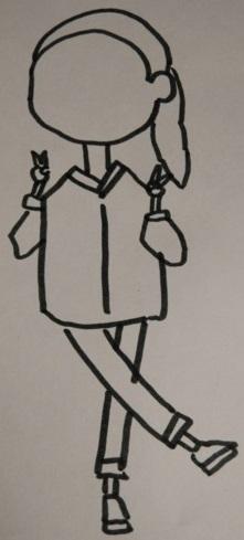 儿童彩笔画教程 儿童彩色水笔画 儿童水彩笔画可爱小女孩教程