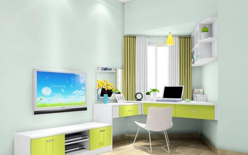 飄窗桌子設計 飄窗做書桌 飄窗書桌裝修效果圖