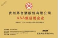 贵州茅台酒AAA级信用企业铜牌.png